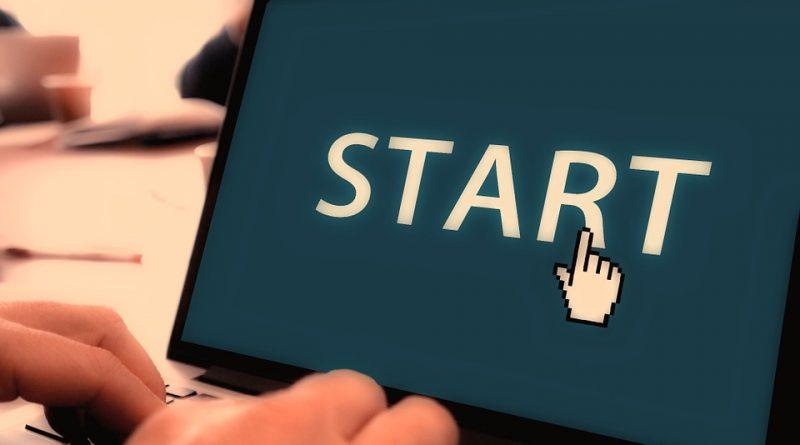 Start skærm